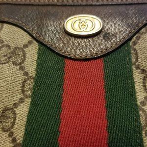Gucci Monogram Handbag Satchel